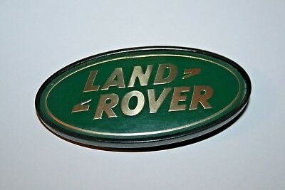 Vintage Clip on Land Rover Plastic Badge Replacement Repair Badges