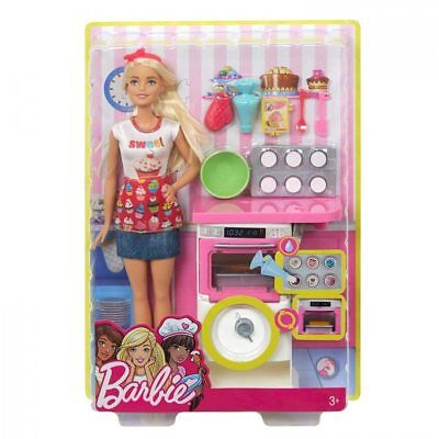 Barbie FHP57 Careers Baking Feature Doll
