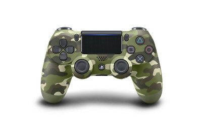 Sony DualShock 4 Wireless Controller PlayStation 4 PS4 green camouflage V2