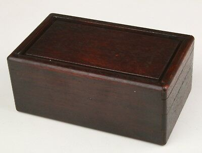 Vintage Chinese Wooden Unique Handmade Body Box Old Decorative Collection