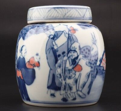 Vintage Chinese Precious Porcelain Unique Jar Old Home Decoration Collection