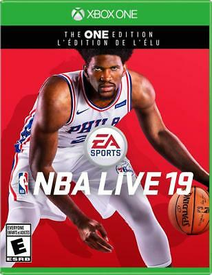 NBA Live '19 - The One Edition [Microsoft Xbox One Basketball EA Sports] NEW