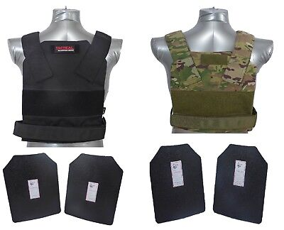 Tactical Scorpion Level III+ / AR500 Body Armor Plates Bobcat Concealment Vest