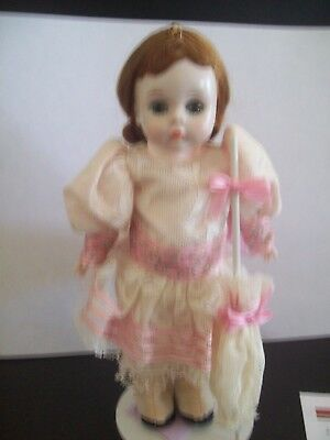 "VINTAGE MADAME ALEXANDER 8"" SLW  DOLL TAGGED  ""WENDY 1893, M.A. New York, NY"