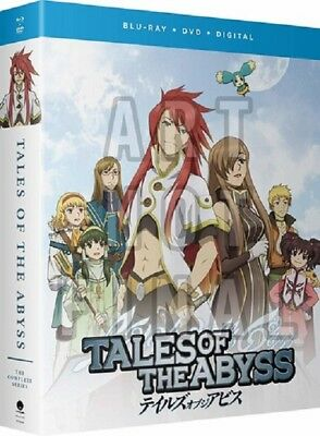 Tales Of The Abyss The Complete Series New Blu-ray + DVD + Digital Box Set