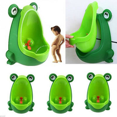 Frog Children Potty Toilet Training Kids Urinal for Boys Pee Trainer Bathroom