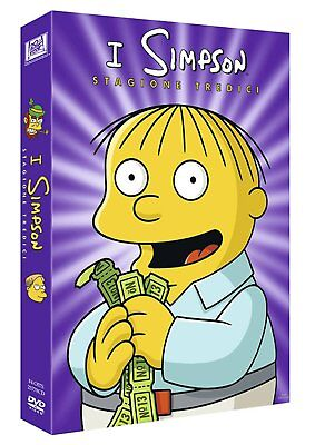 Los Simpsons - Temporada 13 DVD - totalmente en italiano