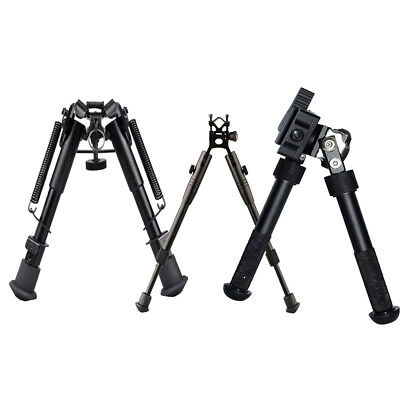 "New Extendable 4.75-9 Inch+8""-10""+6-9 Foldable Bipod For Airsoft Hunting Black"