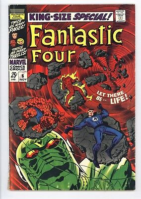 Fantastic Four Annual #6 Vol 1 Very Nice Higher Grade 1st App of Annihilus