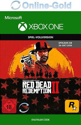[Xbox One] Red Dead Redemption 2 - Microsoft Xbox Digital Spiel Code 18+ - EU