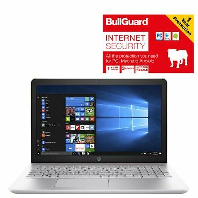 """HP Pavilion 15-CC001NA 15.6"""" Laptop 4GB 1TB HDD With BullGuard Internet Security"""