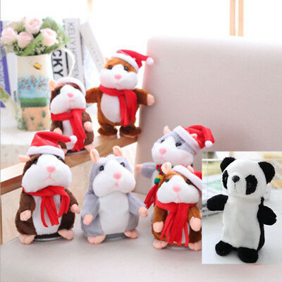 Sound Record Hamster Cheeky Hamster Talking Mouse Pet Christmas Toy Speak Gift