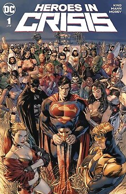 Heroes in Crisis #1 - Bagged & Boarded
