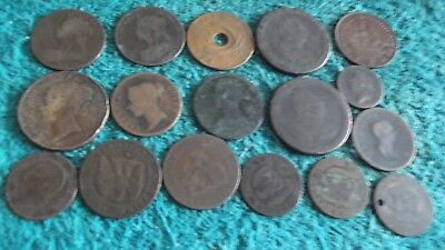 JOB LOT OF OLD COPPER COINS 99p OCC-3