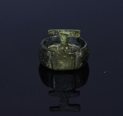 Ancient Roman Era  Bronze Key Ring  - T5
