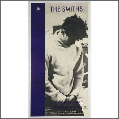 The Smiths 1985 How Soon Is Now? Promotional Poster (UK)