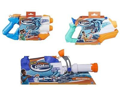 Hasbro Supersoaker Water Blaster Firing Action Toy