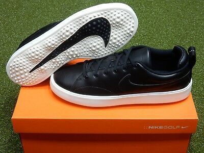 NEW Nike Course Classic Spikeless Golf Shoes Black/White 9.5 Medium (905232_001)