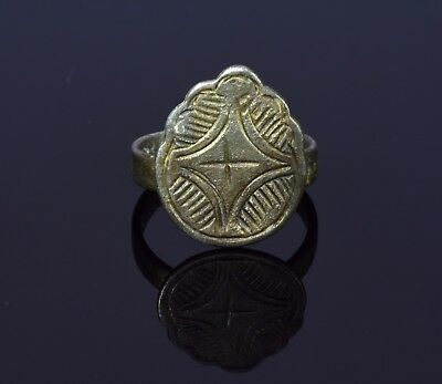 Crusaders Silver Ring With Star Of Bethlehem - T57