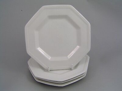 "JOHNSON BROTHERS HERITAGE WHITE 6"" SIDE PLATE x 4."