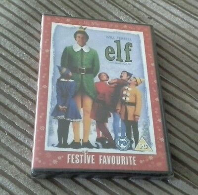 Elf (DVD, 2005)great kids children and family film, XMas double disc NEW/sealed