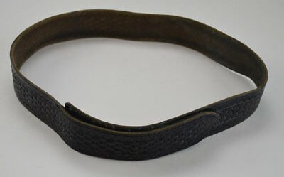 """Used A. E. Nelson 3V Buckle less Hook & Loop Duty / Trouser Belt 36""""   (178A)"""