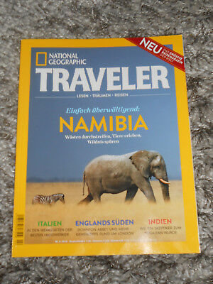 National Geographic Traveler Namibia    neuwertig