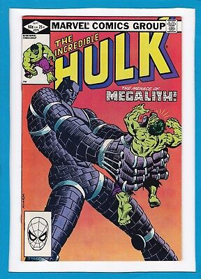 "Incredible Hulk #275_Sept 1982_Near Mint Minus_Jackdaw_""megalith""_Bronze Age!"