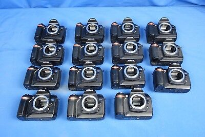 LOT of Nikon D70 & D70s Digital Cameras L4633BP AS-IS