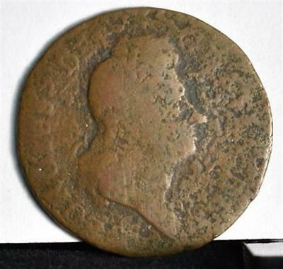 1722 Hibernia Colonial Copper - 2nd Type
