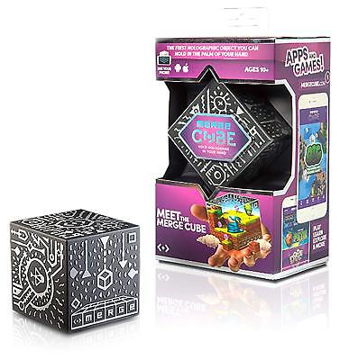 Merge Cube Holographic Handheld AR/VR Holograms Use Phone Android & Apple - NEW™