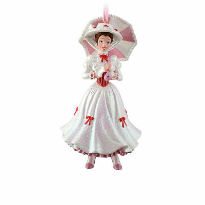 Disney Store Authentic Mary Poppins Christmas Ornament Figure New
