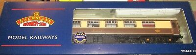BACHMANN 39-290 BR MK1 FP PULLMAN 1st WITH LIGHTS VGBC OO GAUGE