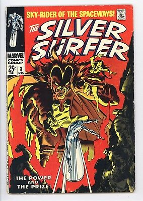 Silver Surfer #3 Vol 1 Very Nice Mid Grade 1st Appearance of Mephisto