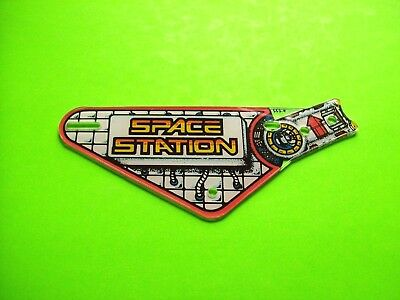 Williams SPACE STATION Original 1987 Pinball Machine Slingshot Plastic #552-9