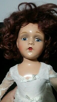 "1940's  Vintage 20"" Madame Alexander Composition Doll  Bride Doll"