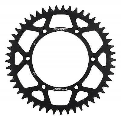 Supersprox Aluminium Black Rear Sprocket 520 49 Teeth Yamaha YZ 490 H 1987