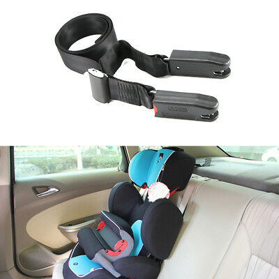 Adjustable Isofix Latch Link Belt Baby Kids Car Fixing Band Safe Seat Strap