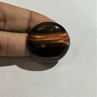 52.7 Cts 100% Natural Red Tiger Eye Cabochon Handcrafted Gemstone L#1817-17