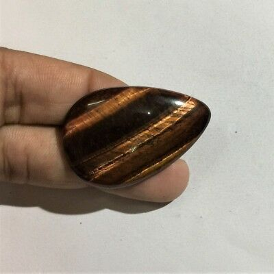 43.8 Cts 100% Natural Red Tiger Eye Cabochon AAA+ Quality Gemstone L#1817-30
