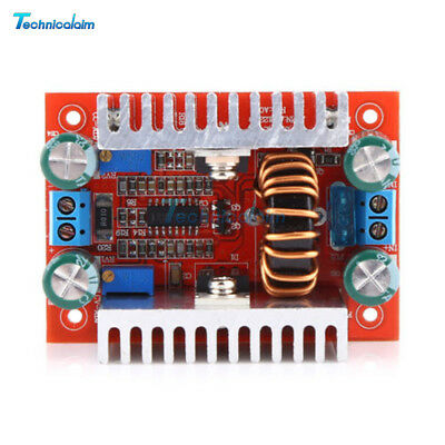 400W 15A DC Step-up Converter Constant Current Boost Power Supply LED Driver