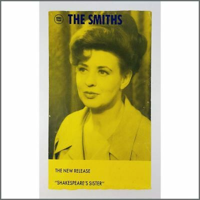 The Smiths 1985 Shakespeare's Sister Promotional Poster (UK)