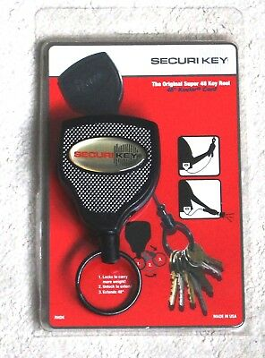 New Securi Key. Key Holder.The original Super 48 Key Reel (This is the last one)