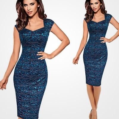 Women Summer Dress Sexy Lace Embroidery Bodycon Pencil Dress Evening Party Dress