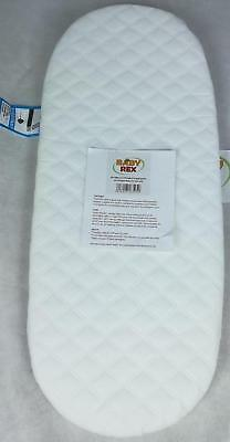 1 x QUILTED BREATHABLE MATTRESS TO FIT I CANDY PEACH TWIN BLOSSOM CARRYCOTS