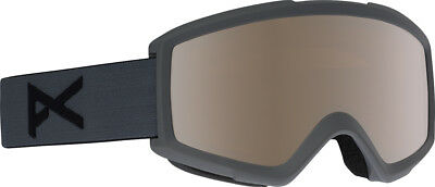 Anon Ski Snowboard Goggle Brille HELIX 2.0 WITH SPARE STEALTH/SILVER AMBER 2019