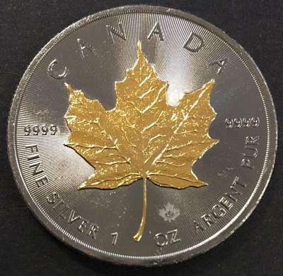 5 Dollars Canada 2016 Fine Silver 1 oz Argent Pur .9999 Silver coin