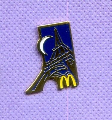 Pins  Mcdonald's Paris France Tour Eiffel   Da209