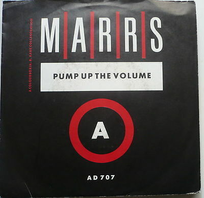 """MARRS - Pump up the volume - 7""""-Single"""
