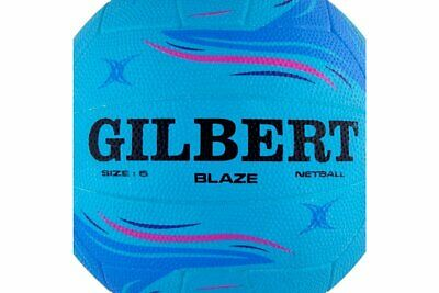Gilbert Unisex Blaze Moulded Training Netball Blue Sports Training Accessory